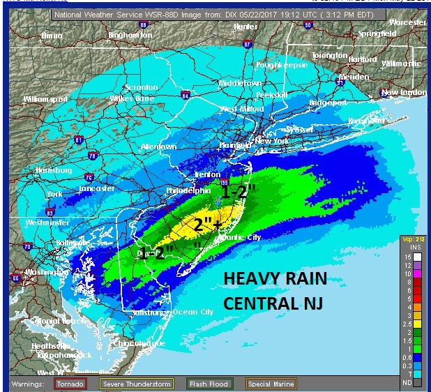 Heavy Rain Central South Jersey Ending