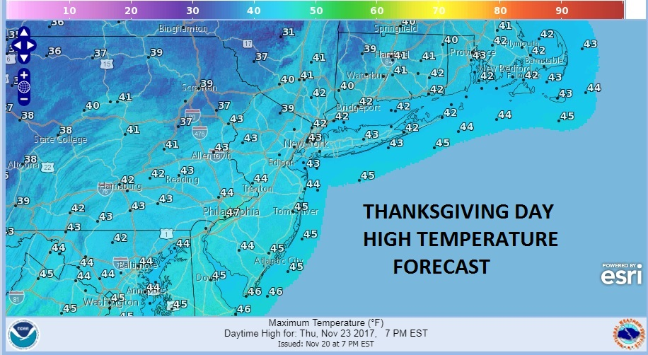 Thanksgiving Holiday Travel Rain Exits Weather Improves