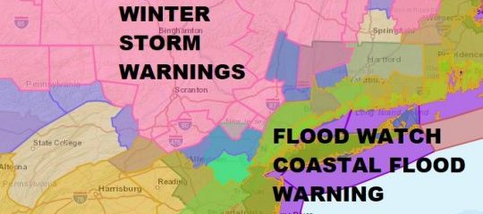 HD Decor Images » Noreaster Underway National Weather Service Snow Forecast Maps     WINTER STORM WARNINGS NORTHWEST NEW JERSEY  HUDSON VALLEY  NORTHWEST  CONNECTICUT  NORTHEAST PENNSYLVANIA