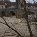 Inondation sur Orthez