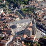 La ville d'Orthez