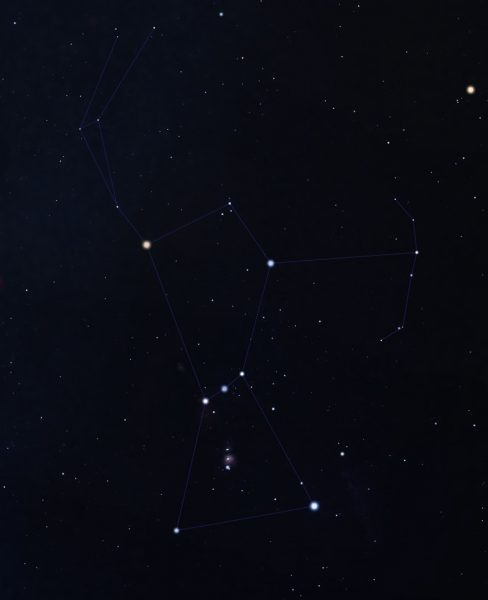 Orion Constellation - Mighty Guardian of Winter Skies