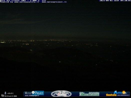 Monte Cimone - Vista su Pian Cavallaro