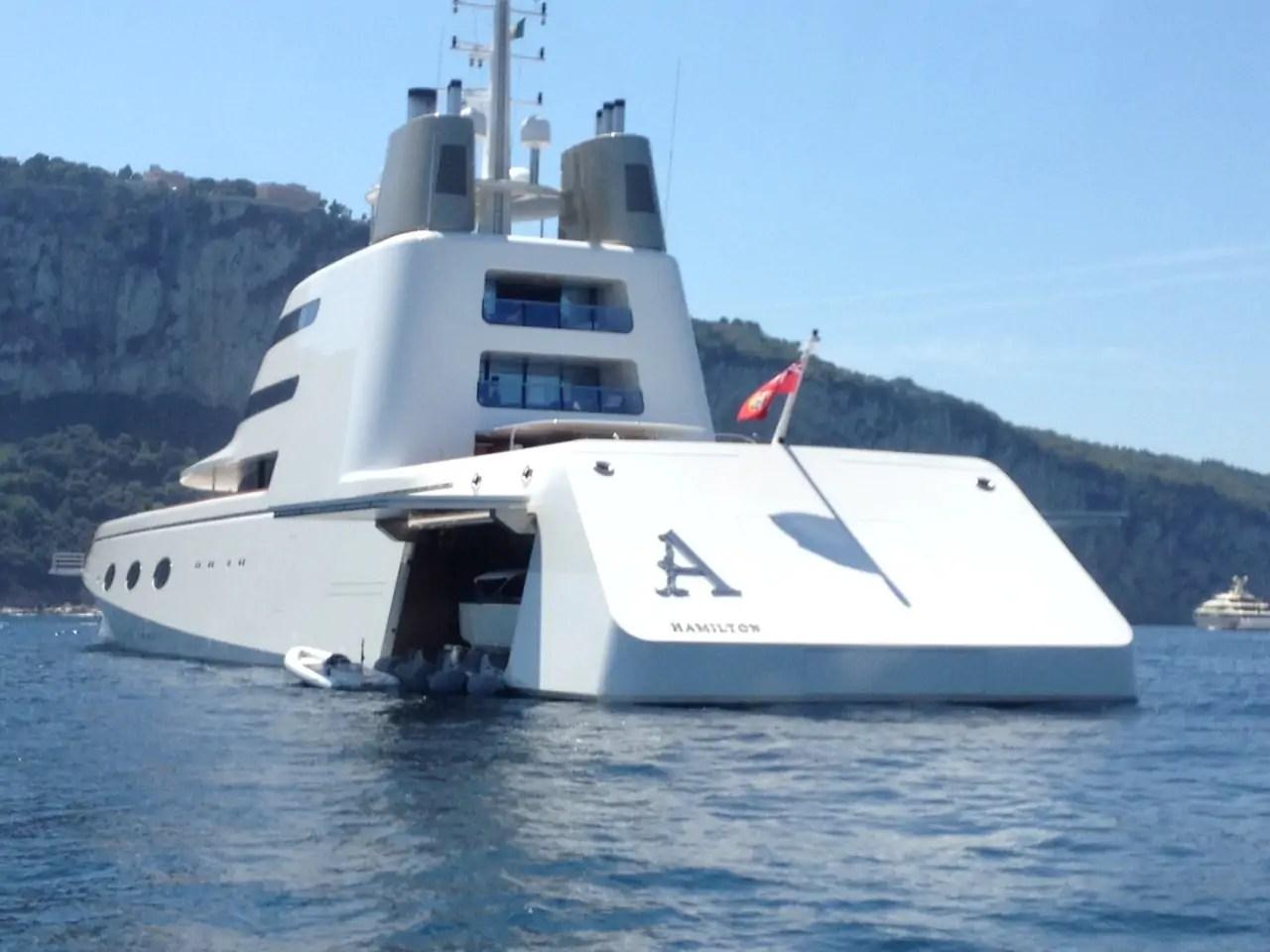 Giga Yacht A Il Gigante Dei Mari Del Miliardario Andrey