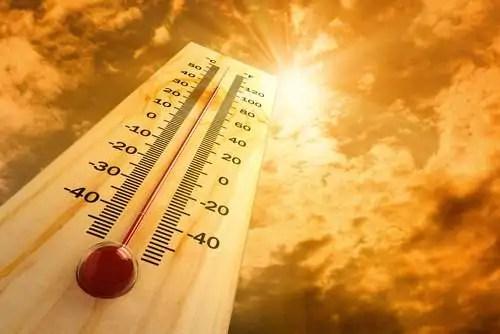 Risultati immagini per termometro caldo