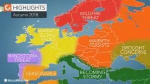 Previsioni Meteo Autunno 2018