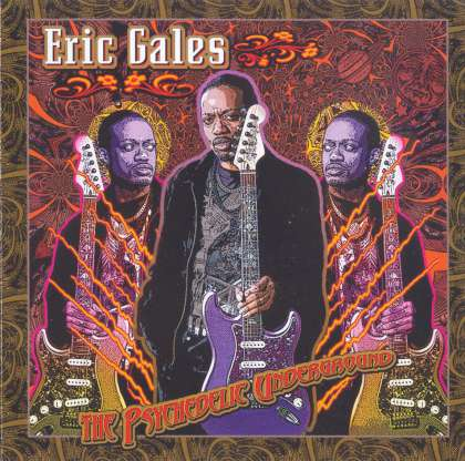 Eric Gales - The Psychedelic Underground cover