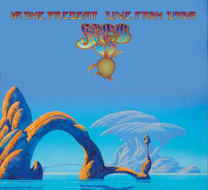 Yes - In The Present - Live From Lyon cover