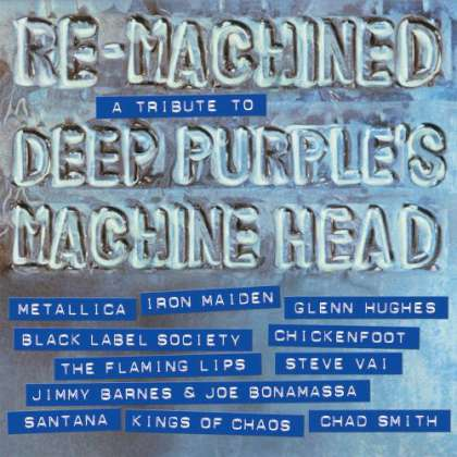 Various Artists - Re-Machined: A Tribute to Deep Purple's Machine Head cover