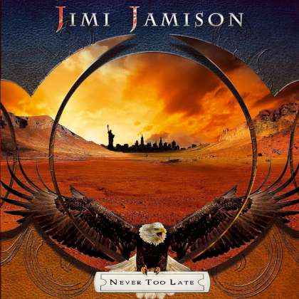 Jimi Jamison - Never Too Late cover