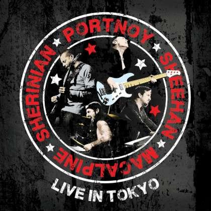 Portnoy Sheehan MacAlpine Sherinian - Live In Tokyo cover