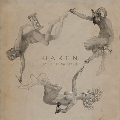Haken - Restoration cover