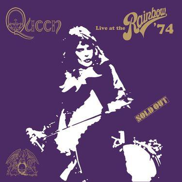 Queen - Live At The Rainbow '74 cover