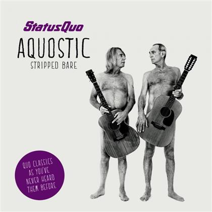 Status Quo - Aquostic (Stripped Bare) cover