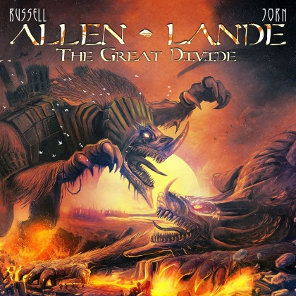 Allen-Lande - The Great Divide cover