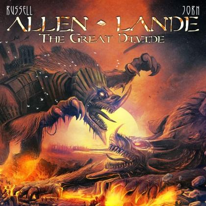 Allen-Lande - The Great Divide cover