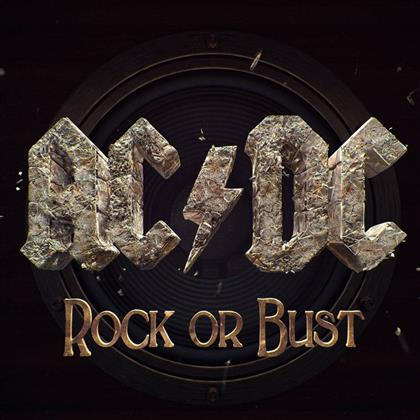 AC/DC - Rock Or Bust cover