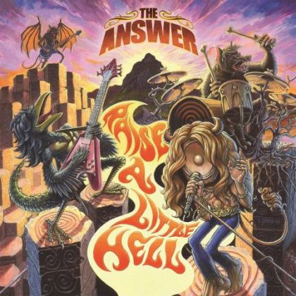 The Answer - Raise A Little Hell cover