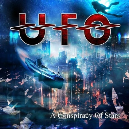 UFO - A Conspiracy Of Stars cover