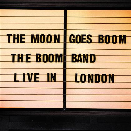 The Boom Band - The Moon Goes Boom cover
