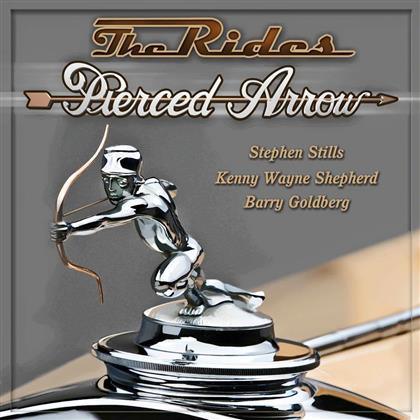 The Rides - Pierced Arrow cover