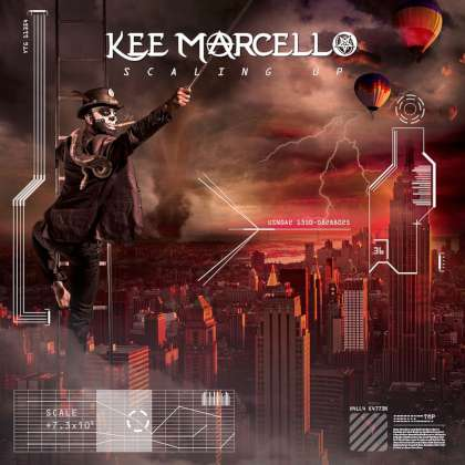 Kee Marcello - Scaling Up cover
