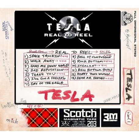 Tesla - Real To Reel cover