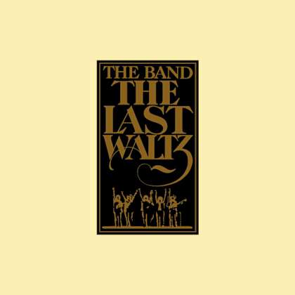 The Band - The Last Waltz cover
