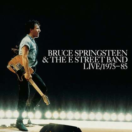 Bruce Springsteen & The E Street Band - Live 1975-1985 cover