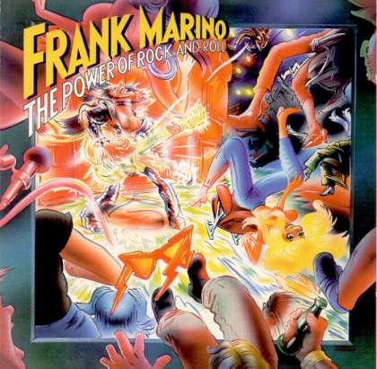 Frank Marino - The Power Of Rock And Roll cover