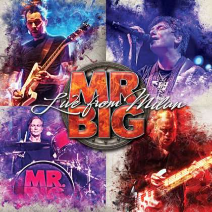 Mr. Big - Live From Milan cover