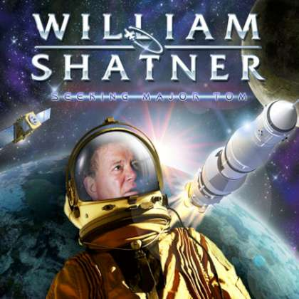 William Shatner - Seeking Major Tom cover