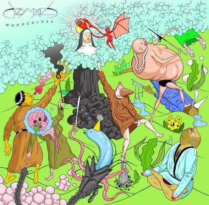Dizzy Mystics - Wanderlost cover