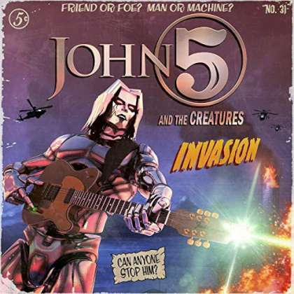 John 5 & The Creatures - Invasion cover