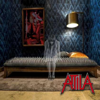 Attila - Solace cover