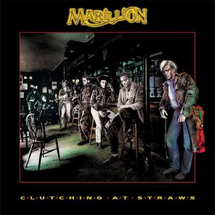 Marillion - Clutching At Straws cover