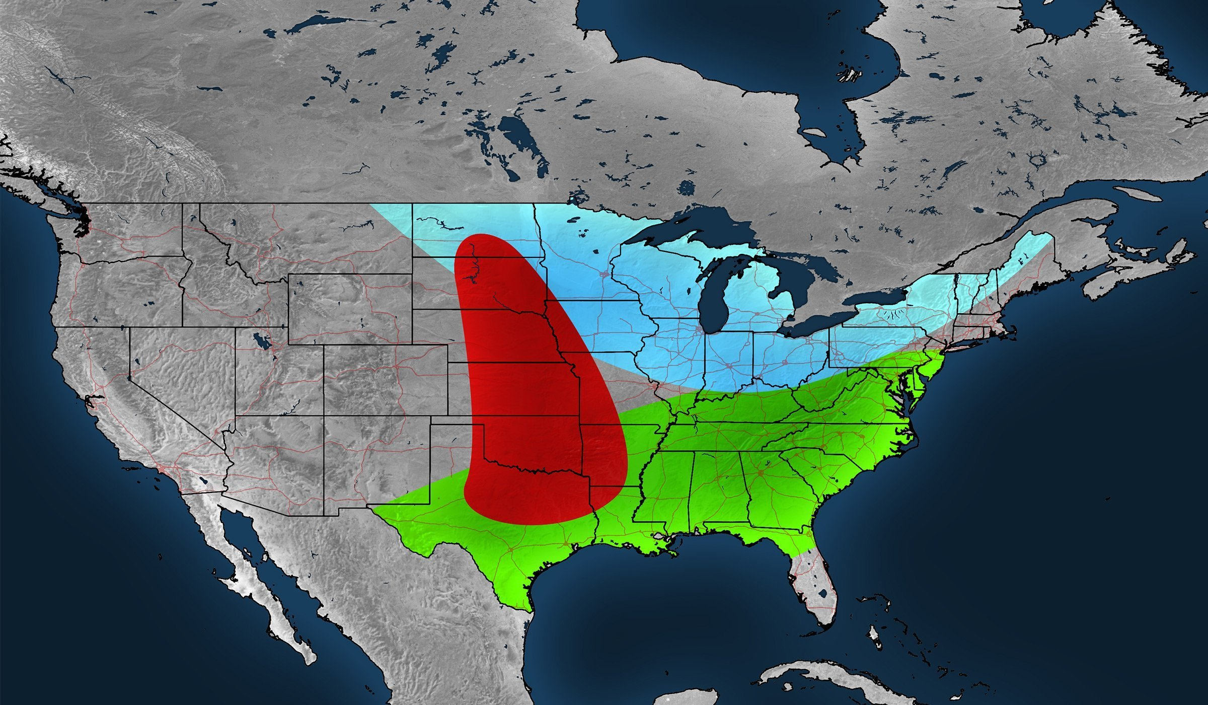 CONUS east-centered