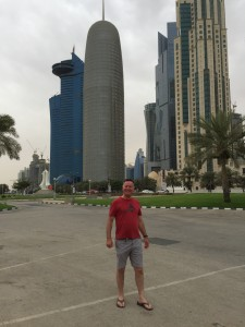 Time off in Doha at Al Corniche