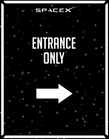 Directional_Entrance Only_Space-X_22x28-01