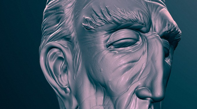 Mudbox Sculpting Tutorial – 'Butler'