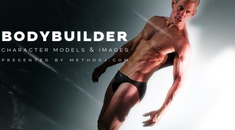 bodybuilder character modeling downloads icon