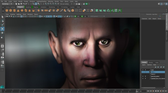 easy eyes maya 2016 eyes tutorial