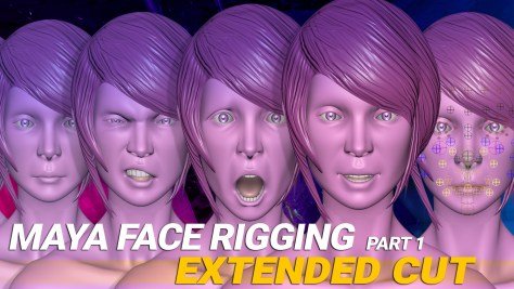 maya 2017 face rigging extended cut part 1 splash
