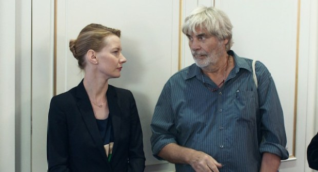 Peter Simonischek and Sandra Huller in Toni Erdmann