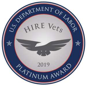 HIRE Vets Medallion Award