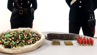 Photo of Carabinieri rinvengono deposito clandestino di munizioni