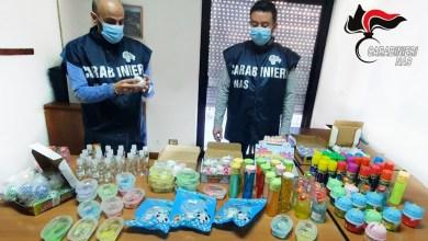Photo of NAS sequestrano 1.500 flaconi di igienizzante privo di autorizzazioni