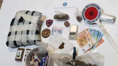 Photo of Pensionato arrestato per spaccio di sostanze stupefacenti