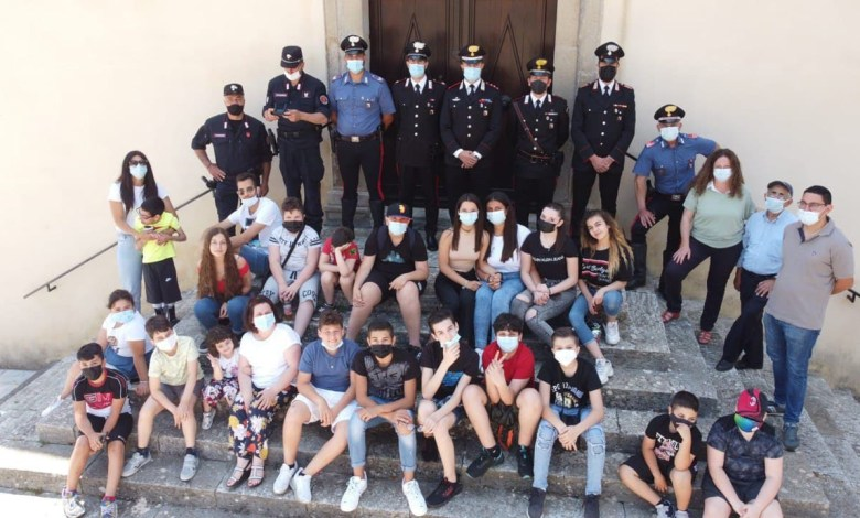 Photo of I Carabinieri di Bianco incontrano i ragazzi di Staiti