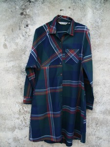 Robe Afreen-Scotish Check